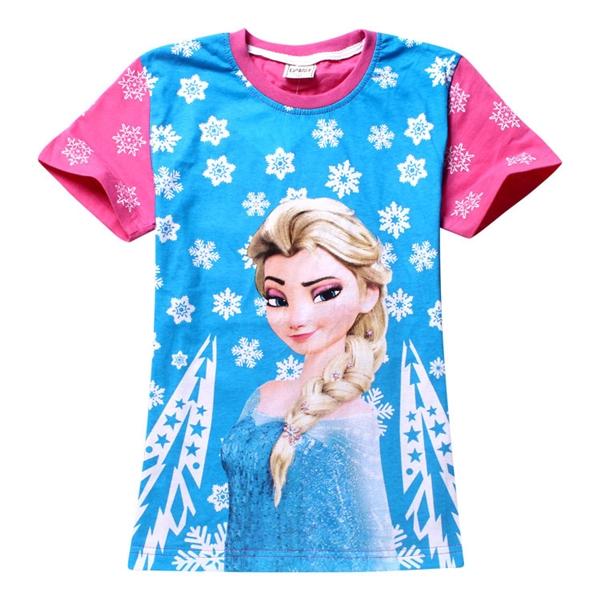 เสื้อยืดเจ้าหญิงดิสนีย์ Frozen (6 ตัว/pack)