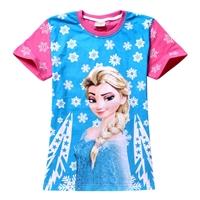 เสื้อยืดเจ้าหญิงดิสนีย์-Frozen-(6-ตัว/pack)