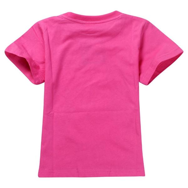 เสื้อยืดเจ้าหญิงดิสนีย์ สีชมพู (6 ตัว/pack)