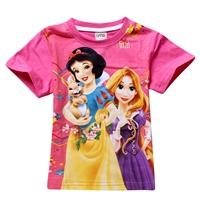 เสื้อยืดเจ้าหญิงดิสนีย์-สีชมพู-(6-ตัว/pack)