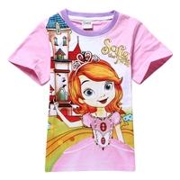 เสื้อยืดเจ้าหญิงดิสนีย์-Sofia-สีชมพู-(6-ตัว/pack)