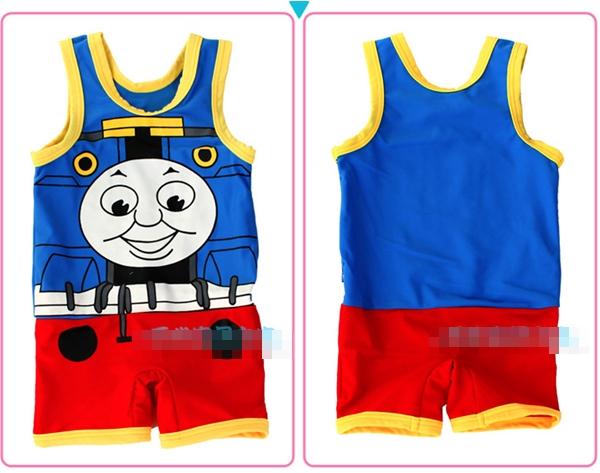 ชุดว่ายน้ำ Locomotive พร้อมหมวก(5 ตัว/pack)