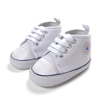 รองเท้าผ้าใบเด็ก-Converse-สีขาว-(6-คู่/pack)
