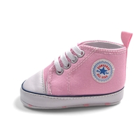 รองเท้าผ้าใบเด็ก-Converse-สีชมพู-(6-คู่/pack)