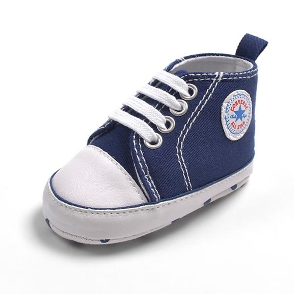 รองเท้าผ้าใบเด็ก Converse สีกรม (6 คู่/pack)