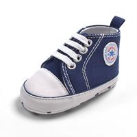 รองเท้าผ้าใบเด็ก-Converse-สีกรม-(6-คู่/pack)