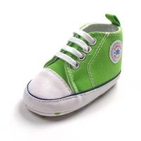 รองเท้าผ้าใบเด็ก-Converse-สีเขียว-(6-คู่/pack)