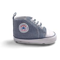 รองเท้าผ้าใบเด็ก-Converse-สียีนส์-(6-คู่/pack)