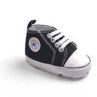 รองเท้าผ้าใบเด็ก-Converse-สีดำ-(6-คู่/pack)