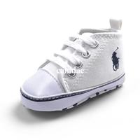 รองเท้าผ้าใบเด็ก-POLO-สีขาว-(6-คู่/pack)