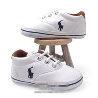 รองเท้าเด็กคุณชาย-POLO-สีขาว-(6-คู่/pack)
