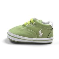 รองเท้าผ้าใบเด็ก-POLO-สีเขียว-(6-คู่/pack)