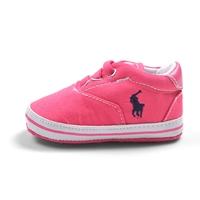 รองเท้าผ้าใบเด็ก-POLO-สีชมพูบานเย็น-(6-คู่/pack)