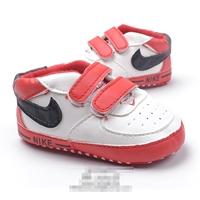 รองเท้าผ้าใบเด็ก-NIKE-สีขาวแดง-(6-คู่/pack)