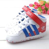 รองเท้าผ้าใบเด็ก-ADIDAS-สีขาวน้ำเงิน-(4-คู่/pack)