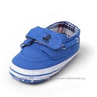 รองเท้าผ้าใบเด็ก-POLO-สีน้ำเงิน-(6-คู่/pack)