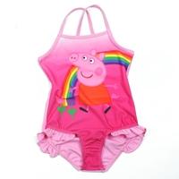 ชุดว่ายน้ำเด็กหญิงหมูสายรุ้ง-สีชมพู-(3-ตัว/pack)