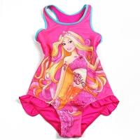 ชุดว่ายน้ำเด็กหญิง-Barbie-สีชมพู-(3-ตัว/pack)