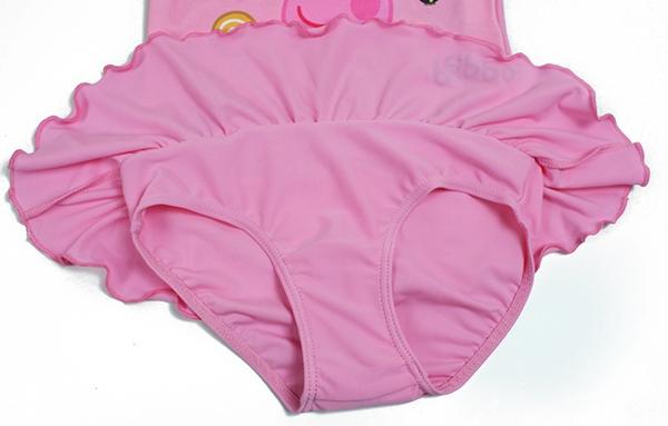 ชุดว่ายน้ำเด็กหมูน้อย Peppa สีชมพู (3 ตัว/pack)