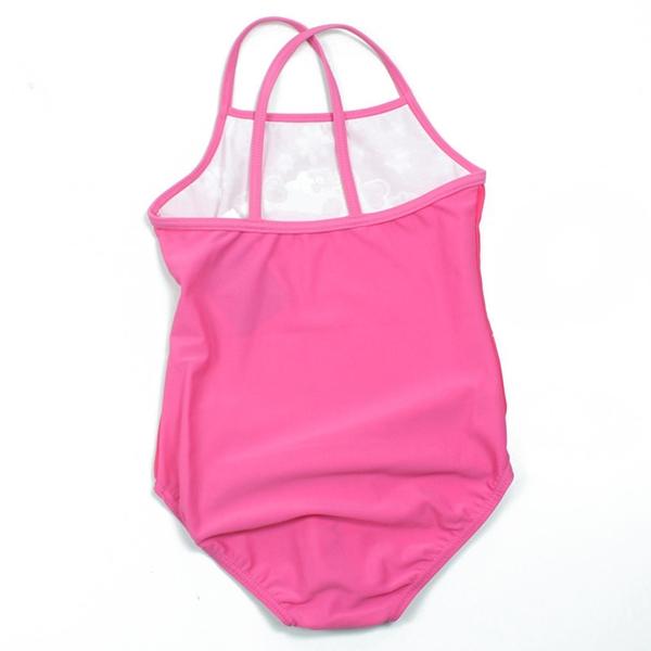 ชุดว่ายน้ำเด็ก Peppa กับดอกไม้สีชมพู (3 ตัว/pack)