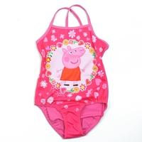 ชุดว่ายน้ำเด็ก-Peppa-กับดอกไม้สีชมพู-(3-ตัว/pack)