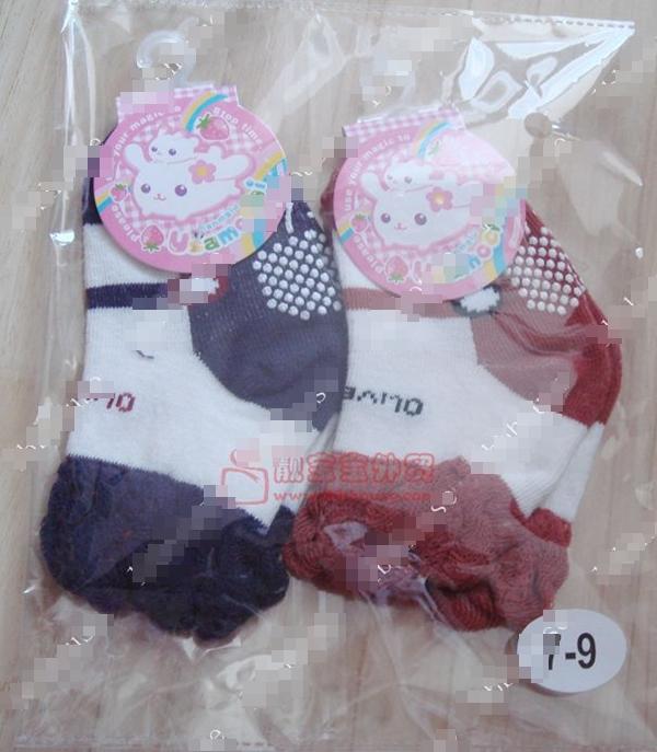 ถุงเท้าเด็กหญิง Olive คละสี (20 คู่ /pack)