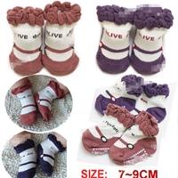 ถุงเท้าเด็กหญิง-Olive-คละสี-(20-คู่-/pack)