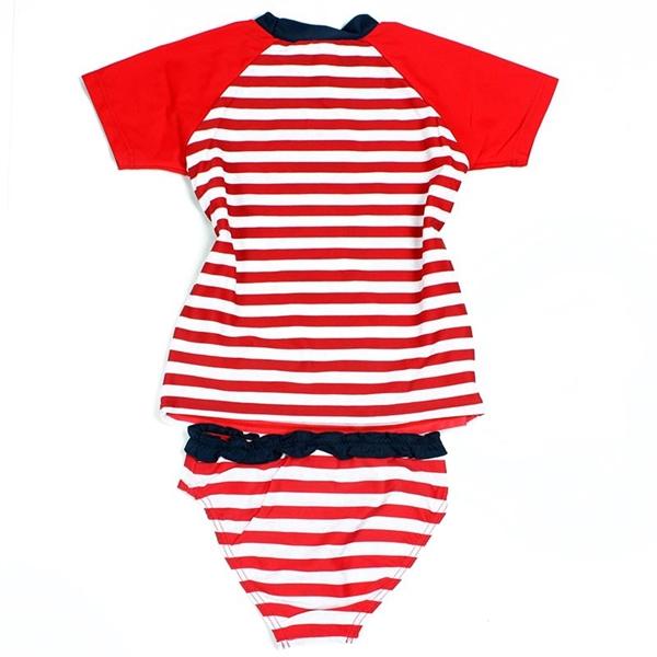 ชุดว่ายน้ำเด็กหญิง Minnie Mouse สีแดง (4 ตัว/pack)