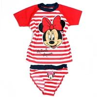 ชุดว่ายน้ำเด็กหญิง-Minnie-Mouse-สีแดง-(4-ตัว/pack)