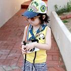 เสื้อกล้ามหมีแพนด้า-สีเหลือง-(5size/pack)