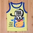 เสื้อกล้ามกระป๋องแยม-สีเหลือง-(5size/pack)