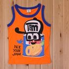 เสื้อกล้ามกระป๋องแยม-สีส้ม-(5size/pack)