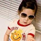 เสื้อยืด-พระอาทิตย์ยิ้มแฉ่ง-ขอบสีแดง-(5size/pack)