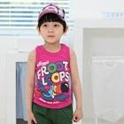 เสื้อกล้าม-Floot-Loops-สีชมพู-(5size/pack)
