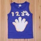เสื้อกล้ามนัมเบอร์ไฟว์-สีน้ำเงิน-(5size/pack)