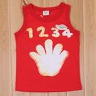 เสื้อกล้ามนัมเบอร์ไฟว์-สีแดง-(5size/pack)
