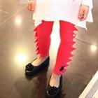 กางเกงเลกกิ้งไดโนเสาร์-สีชมพู-(5-ตัว-/pack)