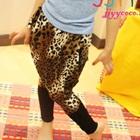 กางเกงขายาวลายเสือดาว-สีน้ำตาล-(5-ตัว/pack)