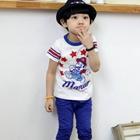 เสื้อยืด-Mario-สีขาว-(5size/pack)