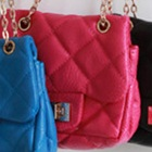 กระเป๋า-Chanel-for-kids-สีชมพูเข้ม-(5-ใบ/pack)