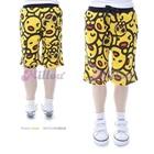 กางเกงขาสามส่วน-Yellow-Duck-สีเหลือง-(5size/pack)