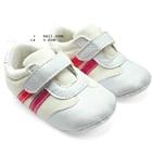 รองเท้าผ้าใบสปอร์ตสีขาว-(4-คู่/แพ็ค)