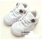 รองเท้าเด็ก-สปอร์ต-สีขาว(4-คู่/แพ็ค)