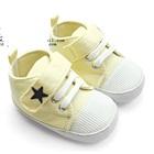 รองเท้าผ้าใบเด็ก-The-star-สีเหลืองอ่อน(4-คู่/แพ็ค)