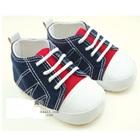 รองเท้าผ้าใบเด็ก-สีน้ำเงิน-(4-คู่/แพ็ค)