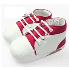 รองเท้าผ้าใบเด็ก-สีแดงขาว-(4-คู่/แพ็ค)
