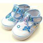 รองเท้าเด็กดอกไม้แสนสวย-สีขาวฟ้า-(4-คู่/แพ็ค)