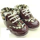 รองเท้าหนังลายเสือดาว-สีน้ำตาล-(4-คู่/แพ็ค)